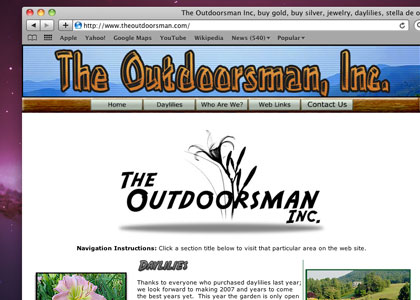 Daylilies of The Outdoorsman, Inc.